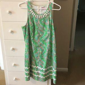 Lilly Pulitzer dress chomp chomp